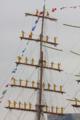 [艦船]メキシコ海軍の練習帆船クワウテモックでの登檣礼