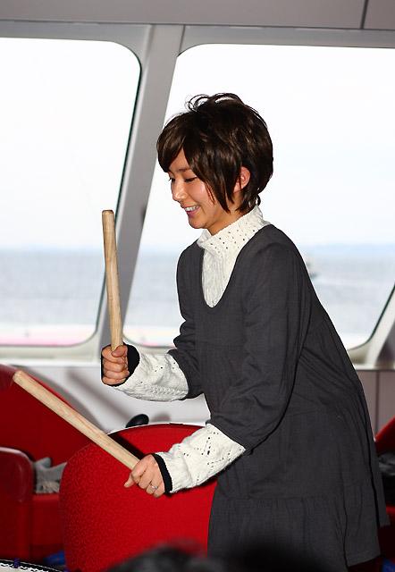 2010年2月21日 ナッチャンWorld久里浜体験航海「まるっとクルーズ」に