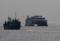 2010年2月21日 久里浜沖を航行するナッチャンWorld