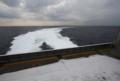 [艦船]2010年2月21日 33ノットで180度回頭するナッチャンWorld