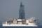 2010年6月6日 浦賀水道航路を南航する掘削船ちきゅう