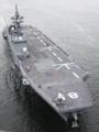 [艦船]2010年6月27日 晴海を出港する護衛艦ひゅうが