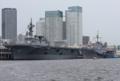 [艦船]2010年6月26日 晴海に碇泊する護衛艦ひゅうがと揚稑指揮艦ブルーリッ