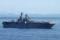 2012年8月26日 浦賀水道を南航する強襲揚陸艦ボノム・リシャール