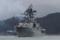 2013年12月21日 舞鶴を出港するアドミラル・ヴィノグラドフ