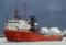 2013年12月21日 舞鶴を出港する曳船カラル