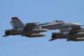 [飛行機]2013年12月31日厚木を離陸するVMFA-232のF/A-18C(WT10/Bu.No.165218)