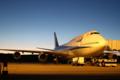 [飛行機]2014年3月15日福島空港に駐機する全日空の747-481(D)(JA8961)