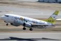 [飛行機]2014年3月15日福島空港を離陸するエアドゥの737-54K(JA305K)