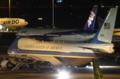 [飛行機]2014年4月24日羽田空港Vスポットに駐機するエアフォースワン(92-9000)