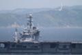 [艦船]2014年5月24日 東京湾観音をバックに浦賀水道航路を南航するジョージ