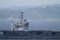 2014年5月24日 東京湾観音をバックに浦賀水道航路を南航するジョージ