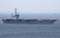 2014年5月24日 浦賀水道航路を南航するジョージ・ワシントン