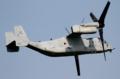 [飛行機]2014年7月15日 厚木を離陸するVMM-265のMV-22B(EP09/Bu.No.168032)