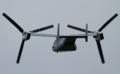 [飛行機]2014年7月21日 横田基地を離陸するVMM-265のMV-22B(ET09/Bu.No.168237)