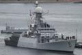 [艦船]2012年6月5日 横須賀に入港するインド海軍のコルベット カルムク