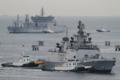 [艦船]2012年6月5日 横須賀に入港するインド海軍のフリゲイト シヴァリク