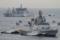 2012年6月5日 横須賀に入港するインド海軍のフリゲイト シヴァリク
