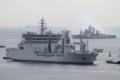 [艦船]2012年6月5日 横須賀に入港するインド海軍の補給艦シャクティINS Shakti