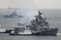 [艦船]2012年6月5日 横須賀に入港するインド海軍の駆逐艦ラーナINS Rana D52