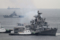 2012年6月5日 横須賀に入港するインド海軍の駆逐艦ラーナINS Rana D52
