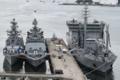 [艦船]2012年6月5日 横須賀に寄港、吉倉桟橋に碇泊したインド海軍艦艇