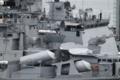 [艦船]2012年6月5日 インド海軍駆逐艦ラーナとフリゲイト シヴァリク