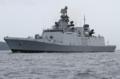 [艦船]2012年6月9日 浦賀水道を南航するインド海軍のフリゲイト シヴァリク