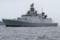 2012年6月9日 浦賀水道を南航するインド海軍のフリゲイト シヴァリク
