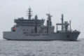 [艦船]2012年6月9日 浦賀水道航路を南航するインド海軍の補給艦シャクティ