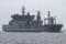 2012年6月9日 浦賀水道航路を南航するインド海軍の補給艦シャクティ