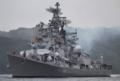 [艦船]2012年6月9日 横須賀を出港するインド海軍の駆逐艦ラーナINS Rana D52