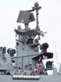 [艦船]インド海軍のフリゲイト シヴァリクINS Shivalik F47のメインマスト