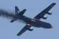 [飛行機]JATOを使用して離陸するブルーエンジェルスのC-130T(Bu.No.164763)