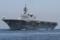 2014年9月22日 初の公式試運転で浦賀水道航路を南航する護衛艦いずも