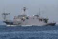 [艦船]22/9/2014 浦賀水道航路を南航する海洋観測艦わかさJS Wakasa AGS5104