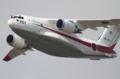 [飛行機]平成26年度航空観閲式で飛行展示を行うXC-2(08-1201)