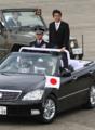 2014年10月26日 平成26年度航空観閲式で観閲を行う安倍晋三内閣総理大