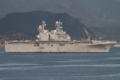 [艦船]2014年11月29日 佐世保を出港する強襲揚陸艦ペリリューUSS Peleliu LHA-5