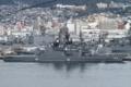 [艦船]2014年11月29日佐世保立神岸壁の護衛艦くらま