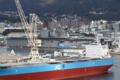 [艦船]2014年11月29日佐世保立神岸壁のペリリューUSS Peleliu LHA-5