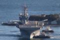 [艦船]2015年1月18日横須賀に入港するボノムリシャールUSS Bonhomme Richard LHD-6