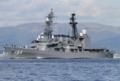 [艦船]函館を出港する護衛艦あまぎりJS Amagiri DD154