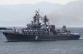 [艦船]舞鶴に入港するスラヴァ級ミサイル巡洋艦ワリヤーグВаряг