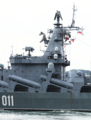 [艦船]ミサイル巡洋艦ワリヤーグВарягの艦橋構造物