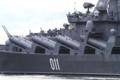 [艦船]ミサイル巡洋艦ワリヤーグВарягのP-1000発射筒