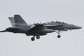 [飛行機]2015年7月20日 三沢に着陸するVAQ-135のEA-18G(NL521/Bu.No.168390)