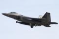 [飛行機]2016年1月21日横田に着陸する3WG/525FSのF-22A(06-4119)