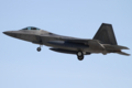 [飛行機]2016年1月21日横田に着陸する3WG/525FSのF-22A(06-4129)