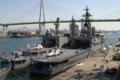 [艦船]大阪天保山岸壁に停泊する護衛艦ひえいJDS Hiei DDH142